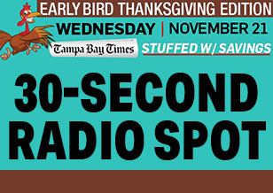 Radio Spot – Tampa Bay Times